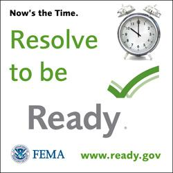 Resolve To Be Ready